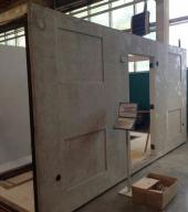 Завод Инвэнт-Электро :: подготовка основания для электробудки